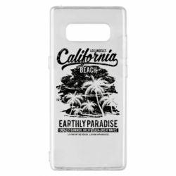 Чохол для Samsung Note 8 California Beach