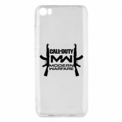 Чехол для Xiaomi Mi5/Mi5 Pro Call of debt MW logo and Kalashnikov