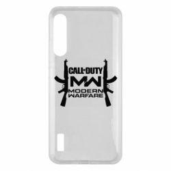 Чохол для Xiaomi Mi A3 Call of debt MW logo and Kalashnikov