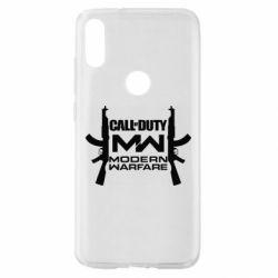 Чехол для Xiaomi Mi Play Call of debt MW logo and Kalashnikov
