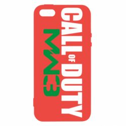 Чехол для iPhone5/5S/SE Call Of Duty 3 MW - FatLine