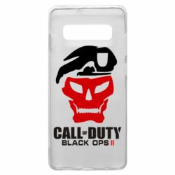 Чехол для Samsung S10+ Call of Duty Black Ops 2