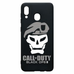 Чехол для Samsung A20 Call of Duty Black Ops 2