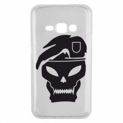 Чехол для Samsung J1 2016 Call of Duty Black Ops logo