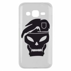Чехол для Samsung J2 2015 Call of Duty Black Ops logo