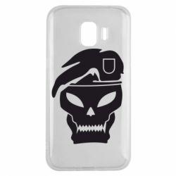 Чехол для Samsung J2 2018 Call of Duty Black Ops logo