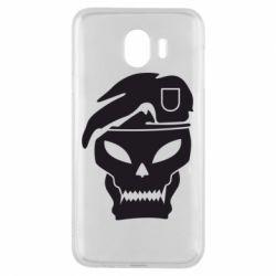 Чехол для Samsung J4 Call of Duty Black Ops logo