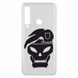 Чехол для Samsung A9 2018 Call of Duty Black Ops logo