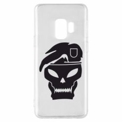 Чехол для Samsung S9 Call of Duty Black Ops logo