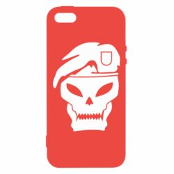 Чехол для iPhone5/5S/SE Call of Duty Black Ops logo - FatLine