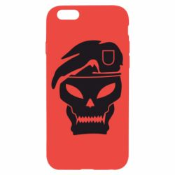 Чехол для iPhone 6/6S Call of Duty Black Ops logo - FatLine