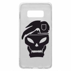 Чехол для Samsung S10e Call of Duty Black Ops logo