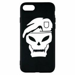 Чехол для iPhone 7 Call of Duty Black Ops logo