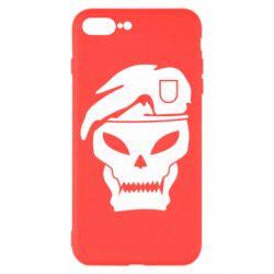 Чехол для iPhone 7 Plus Call of Duty Black Ops logo