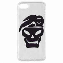 Чехол для iPhone 8 Call of Duty Black Ops logo