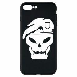 Чехол для iPhone 8 Plus Call of Duty Black Ops logo