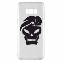 Чехол для Samsung S8+ Call of Duty Black Ops logo - FatLine