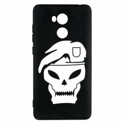 Чехол для Xiaomi Redmi 4 Pro/Prime Call of Duty Black Ops logo - FatLine