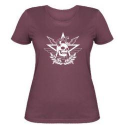 Жіноча футболка Call of Duty cranium