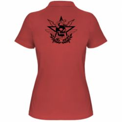 Жіноча футболка поло Call of Duty cranium