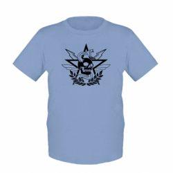 Детская футболка Call of Duty cranium
