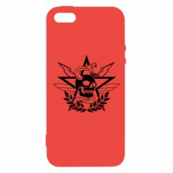 Чехол для iPhone5/5S/SE Call of Duty cranium