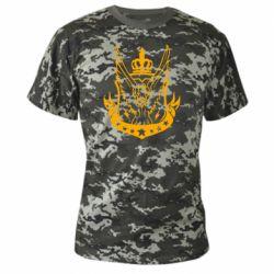 Камуфляжная футболка Call of Duty eagle