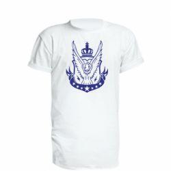 Удлиненная футболка Call of Duty eagle