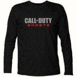Футболка с длинным рукавом Call of Duty Ghosts Logo - FatLine