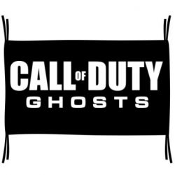 Флаг Call of Duty Ghosts Logo