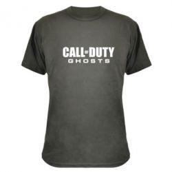 Камуфляжная футболка Call of Duty Ghosts Logo - FatLine