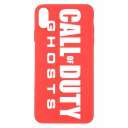 Чехол для iPhone X/Xs Call of Duty Ghosts Logo