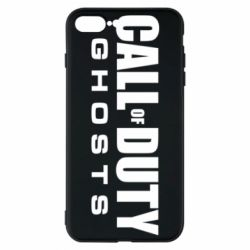Чехол для iPhone 8 Plus Call of Duty Ghosts Logo
