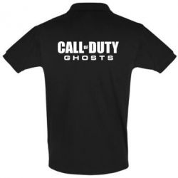 Футболка Поло Call of Duty Ghosts Logo - FatLine