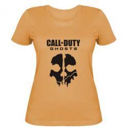 Женская футболка Call of Duty Ghosts - FatLine