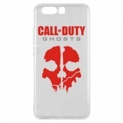 Чехол для Huawei P10 Call of Duty Ghosts - FatLine