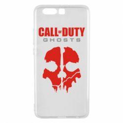 Чехол для Huawei P10 Plus Call of Duty Ghosts - FatLine