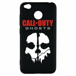 Чехол для Xiaomi Redmi 4x Call of Duty Ghosts - FatLine