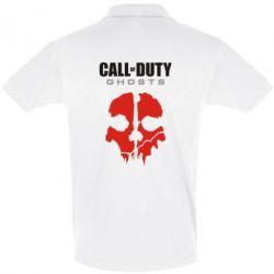 Мужская футболка поло Call of Duty Ghosts