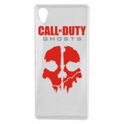 Чехол для Sony Xperia X Call of Duty Ghosts - FatLine