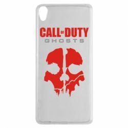 Чехол для Sony Xperia XA Call of Duty Ghosts - FatLine