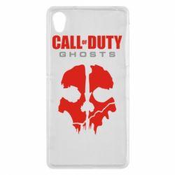 Чехол для Sony Xperia Z2 Call of Duty Ghosts - FatLine