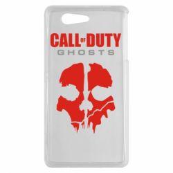Чехол для Sony Xperia Z3 mini Call of Duty Ghosts - FatLine
