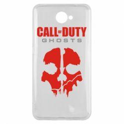 Чехол для Huawei Y7 2017 Call of Duty Ghosts - FatLine