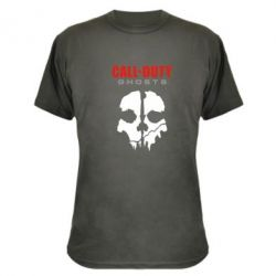 Камуфляжная футболка Call of Duty Ghosts - FatLine