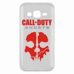 Чехол для Samsung J2 2015 Call of Duty Ghosts - FatLine
