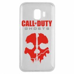 Чехол для Samsung J2 2018 Call of Duty Ghosts - FatLine