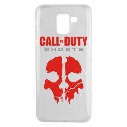Чехол для Samsung J6 Call of Duty Ghosts - FatLine