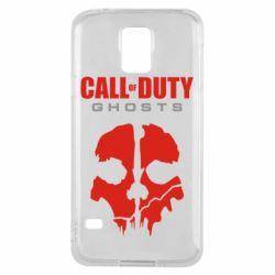 Чехол для Samsung S5 Call of Duty Ghosts - FatLine