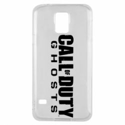 Чохол для Samsung S5 Call of duty ghosts